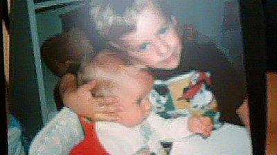moi et mon frere petit :p