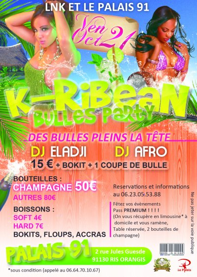 K-RIBEAN BULLES PARTY (Sware Antillaise)