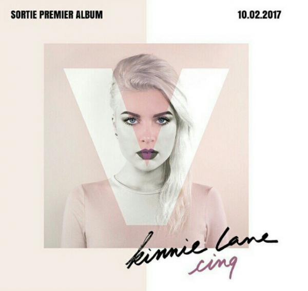 Kinnie Lane : découvrez la pochette et la date de son premier album !