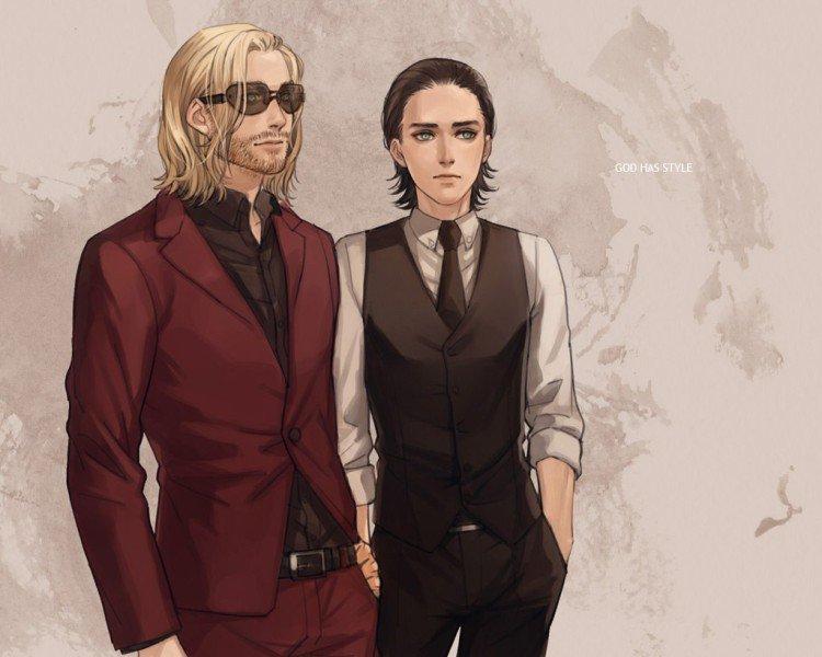 -----------------♥♪~Loki~♪♥------------------♥♪~Thor~♪♥---------------------