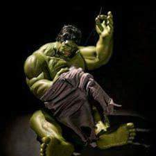 Dark side of Hulk