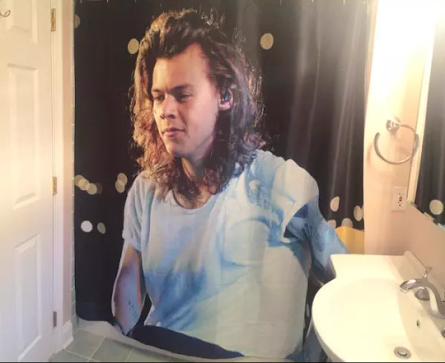 Qui veut ce rideau de douche ?