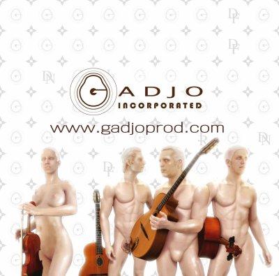 """Gadjo """"LE"""" groupe de Jazz Manouche Suisse"""