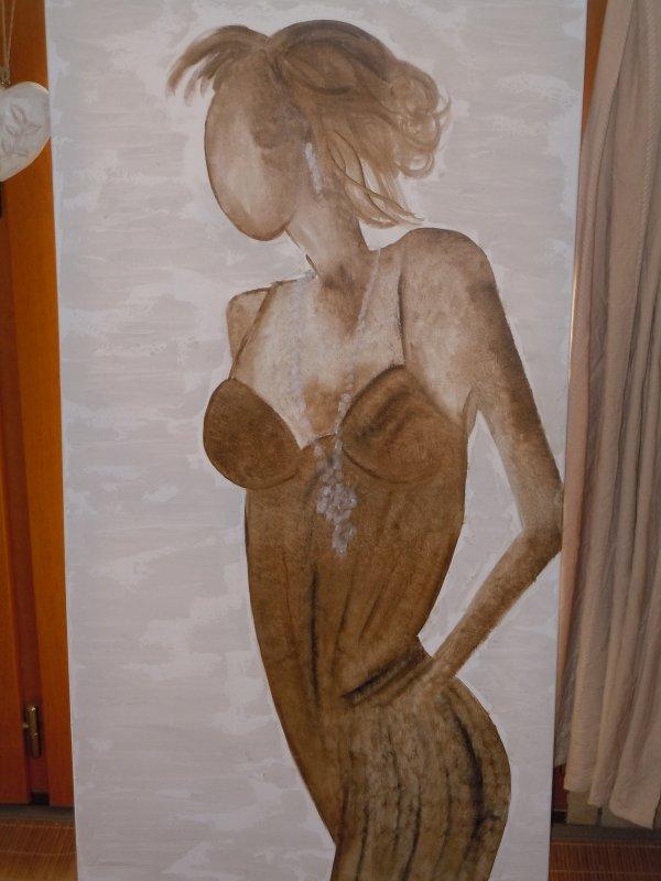 Figurine peinture à l'huile