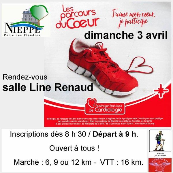 18ème PARTICIPATION AU PARCOURS DU COEUR POUR LE FLECHAGE VTT !!!