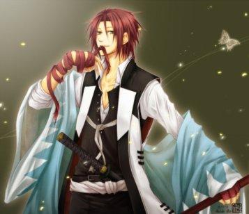 (suite présentation des personnages de Hakuouki shinsengumi kitan) =P
