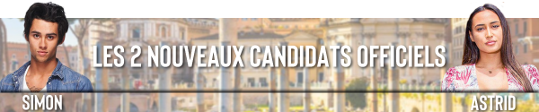 Saison 1 - Les premiers candidats officiels