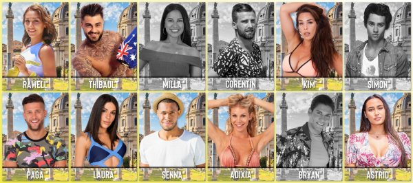 Saison 1 - Les candidats