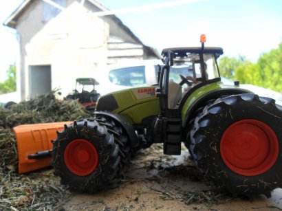 CLAAS AXION SILAGE2010