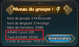 Mission de groupe
