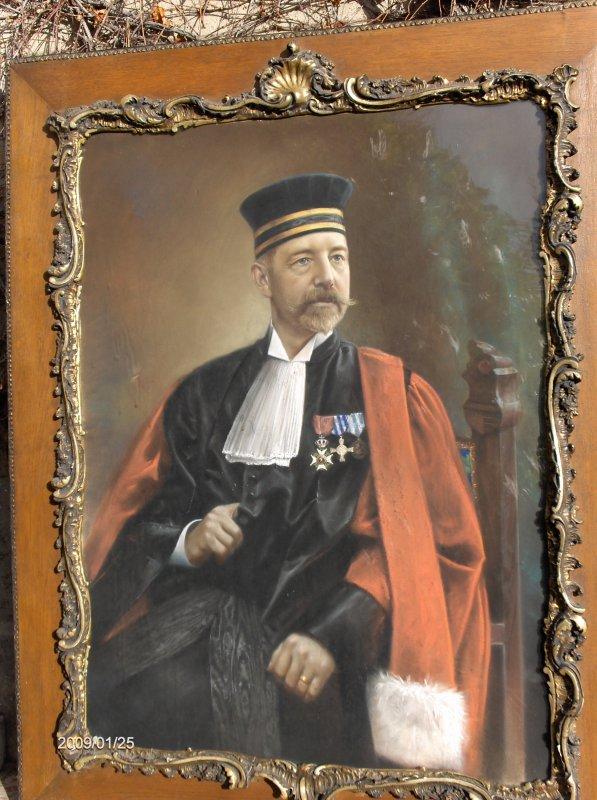 Emile de Bie , magistrat