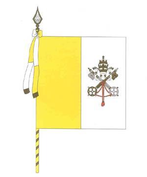 1. Drapeau du Vatican