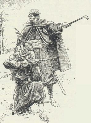 10. La chasse aux brigands dans le Latium