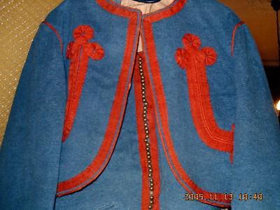 14. La veste de Zouave Pontifical