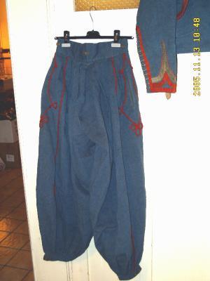 15. Le pantalon de Zouave Pontifical