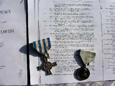 Médailles de Mentana et Bene Merenti