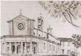 Ponte Corese, l'église