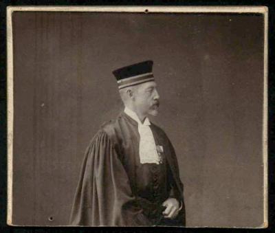 Emile de Bie, Magistrat