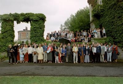 La famille de Bie et descendants en 2001!