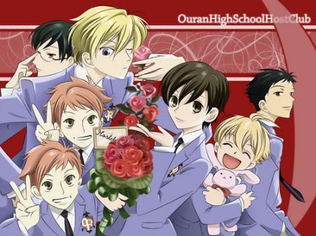 Host club:le lycée de la séduction,un manga plein de romantisme et...d'humour!^^