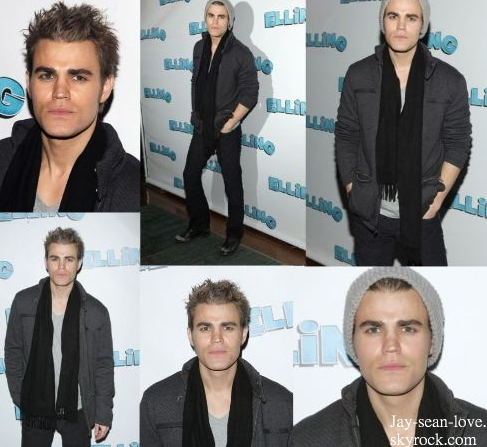 """Elling"" Broadway Opening Night ! Paul Wesley trop beau $) ! T en pense quoi ?"