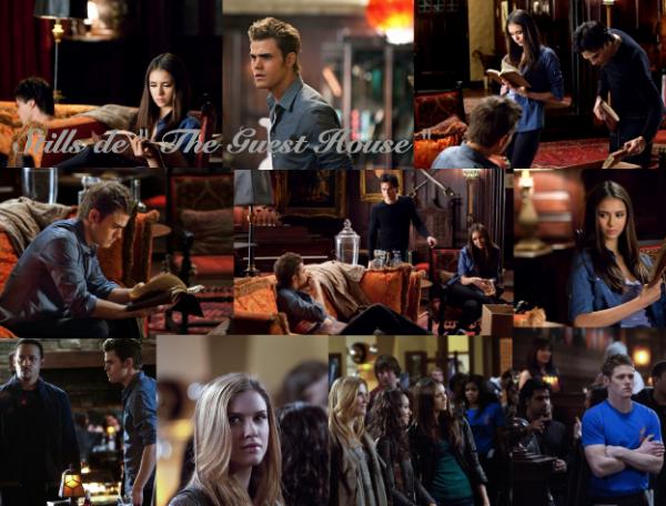 """Stills du 16ème épisode """" The Guest House """" .. Qu'en pensez vous ? Elijah mort ou pas ?"""