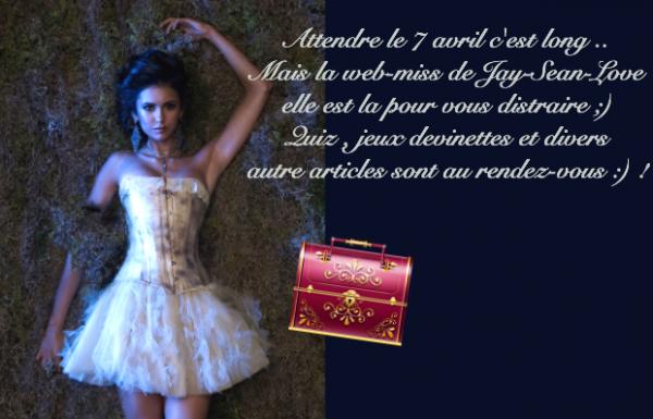 Pour tous les fans de Vampire Diaries :D ♥ !