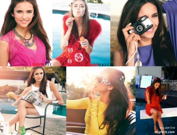 Shoot de Nina pour TeenVougue :) Qu'en penses tu ? Moi personnellement , j'adore :o