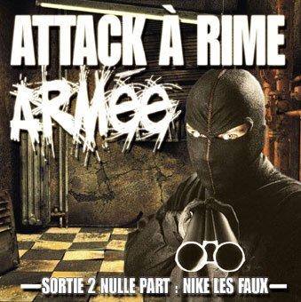 """RAFALE NORDIK """"Attack a rime armée : sortie de nulle part"""" 2007 compil"""
