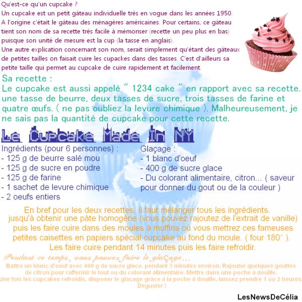 Cuisine : Faire un Cupcake