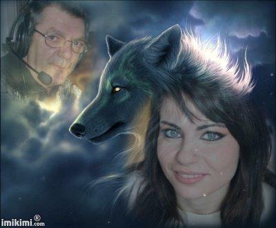 loup-blanc louve-blanche ♥♥
