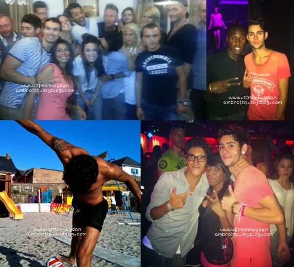 • 27/08/12 : Nouvelles photos postées sur twitter et facebook