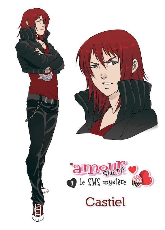 Les personnages principaux du manga amour sucr manga - Image de personnage de manga ...