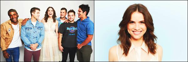 20/07/17: Shelley Hennig à assisté au panel du « Comic Con » de San Diego avec une partie du cast de Teen Wolf. Lors du panel un nouveau trailer de la saison 6B à fait son apparition, je vous laisse le voir ci-dessous et découvrez les photos d'après le panel (lien) !