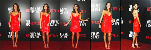 20/02/18: Shelley Hennig s'est rendue à l'avant-première de son film « When We First Met » à Los Angeles, Calif. Les sorties se font rares pour Shel' alors quand il y en a une on l'apprécie. Tout le cast était présent. Shelley est magnifique dans sa robe rouge, top !