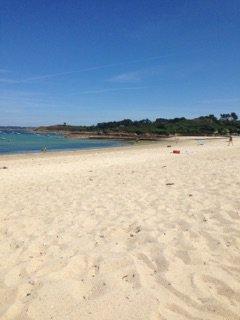 aujourd'hui plage trop bien 😄
