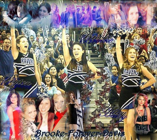 Brooke , Haley et Peyton