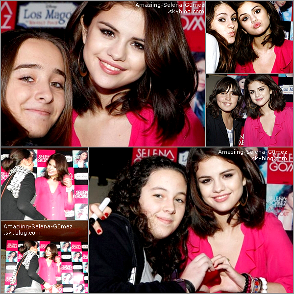 """Dimanche 17 Octobre : Selena était à Madrid (Espagne) Pour la Promotion de son Album """"A Year Without Rain"""" ! Top ou Flop ?"""