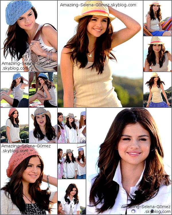 Découvrez le Photoshoot de Selena Pour la Collection Dream Out Loud de Printemps 2011.  Pour Ma Part Je Trouve ce Shoot Vraiment Magnifique et Vous ?
