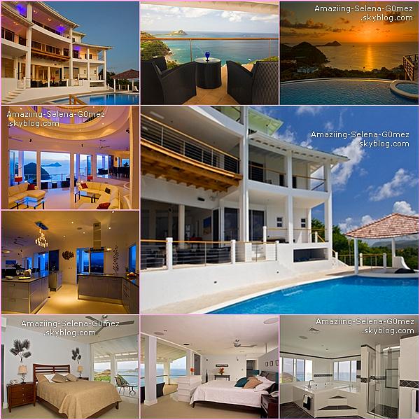 Decouvrez Les Photos de La Villa dans lequel Séjourner Selena et Justin lorsqu'ils Passaient des Vacances Ensemble à St Lucie Dans Les Antilles . Le Prix et Juste de 3 000 $ la Nuit. Pas Mal Non ?