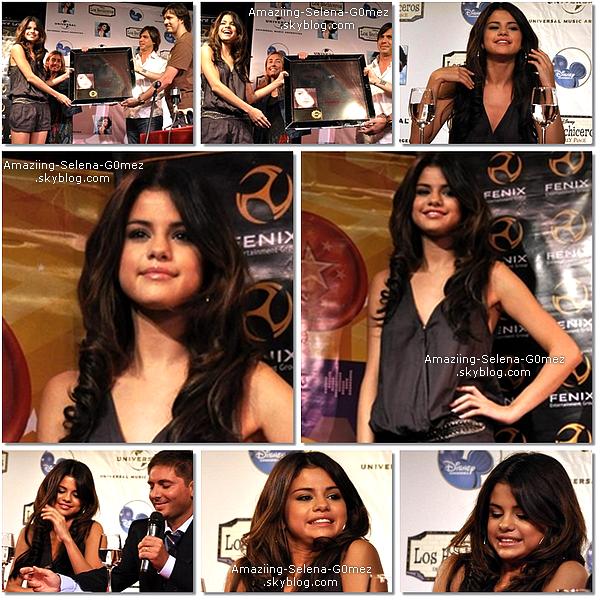 Vendredi 4 Février : Selena donnant une Conférence de Presse en Argentine.