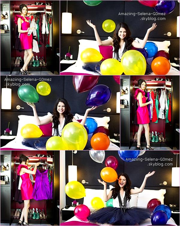 """Découvrez la Suite Du Photoshoot de Selena Réalisé Pour Le Magazine Français """"Gala"""" Datant de 2010."""