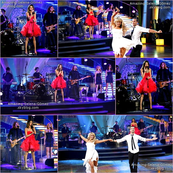 "Mardi 5 Avril : Selena & The Scene Ont Performés en Live ""Who Says"" sur Le Plateau de l'émission « Dancing With The Stars »."
