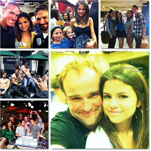 """Mercredi 11 Mai : Selena  a Assisté à """"the Southern Style St Bernard Project """" avec Comme Ambassadrice Britney Spears. Le Projet de St Bernard est une Organisation qui Contribue à Reconstruire les Vies et les Maisons des Survivants de l'ouragan Katrina. Top Ou flop ?"""