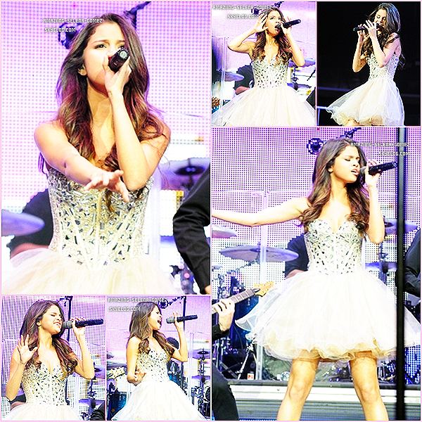 Samedi 14 Mai : Selena & The Scene Ont Perfomés au Wango Tango au Staple Center de Los Angeles. Top Ou Flop ?