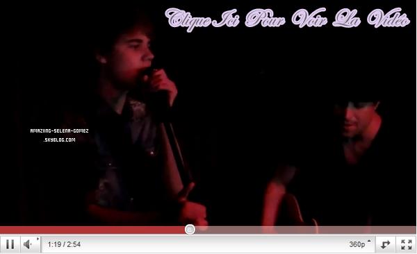 Jeudi 19 Mai : Selena et Justin au Concert de  Ernie Halter à La Cave à Costa Mesa.