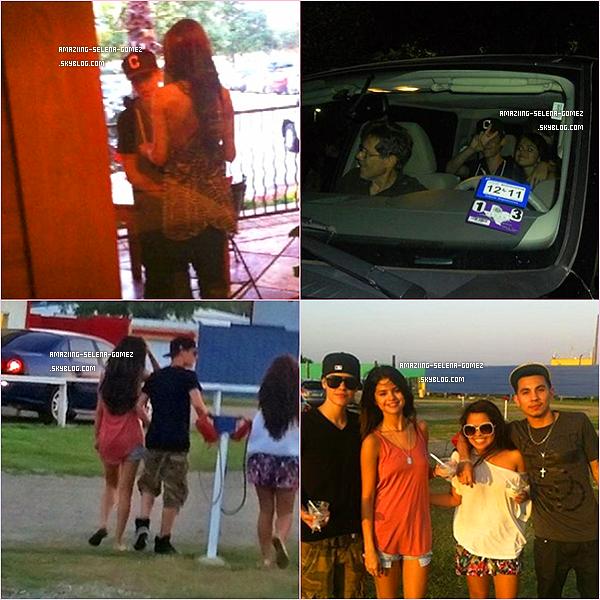 Découvrez Des Photos Très Récente de Selena et Justin au Texas Dont Des Photos avec La Famille de Selena.