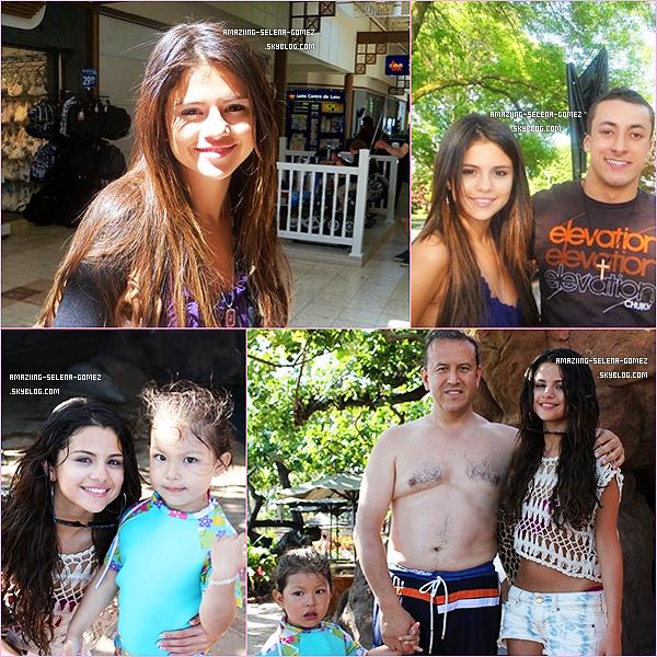 Samedi 4 Juin : Selena et Justin Quittant la Maison des  Grands-Parents de Mister Bieber avec Pattie la Maman de Celui-Ci.