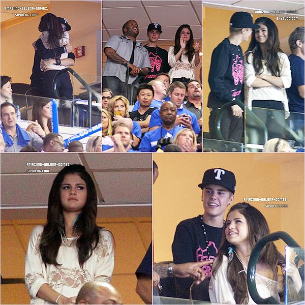 Mardi 7 Juin : Selena et Justin S'embrassant et se Faisant des Câlins Tout en Assistant à la Finale de La NBA.