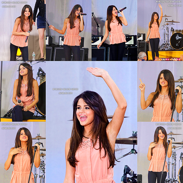 """Jeudi 16 Juin : Selena dans les Coulisses du """"Monte Carlo Mall Tour"""" en Géorgie."""